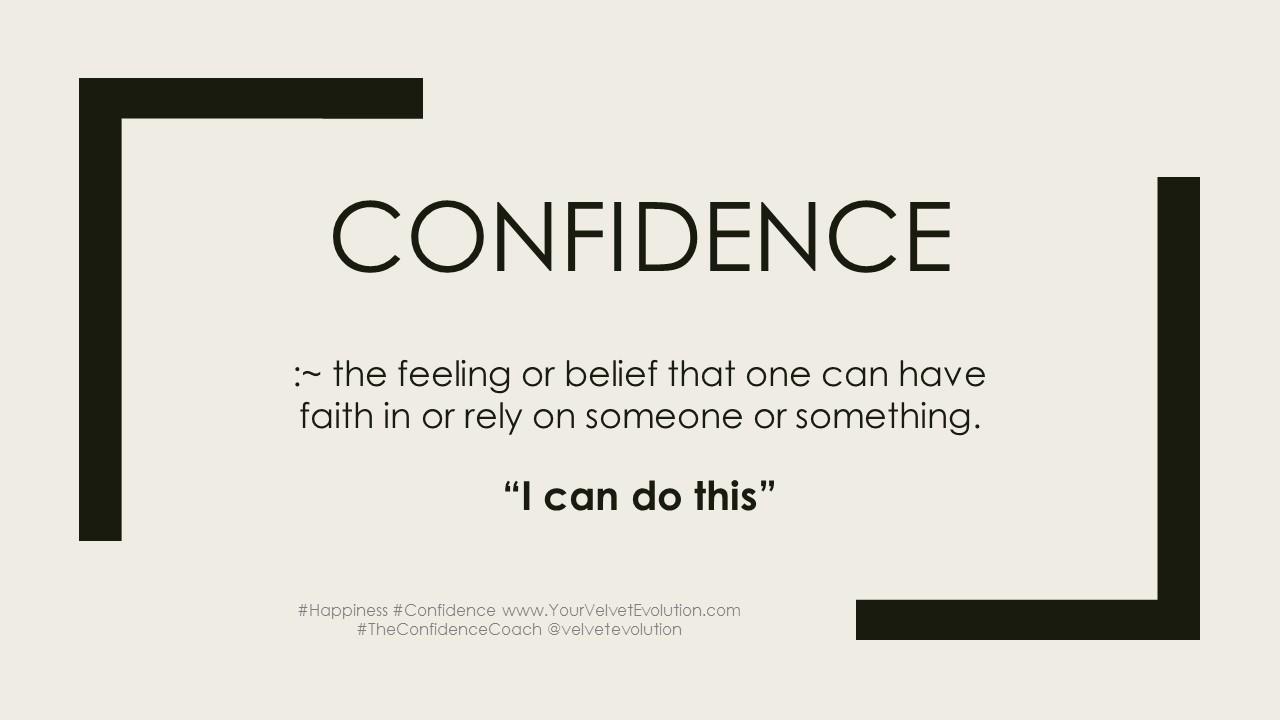 self help for greater self confidence - velvet evolution